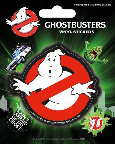 Ghostbusters Vinyl Stickers